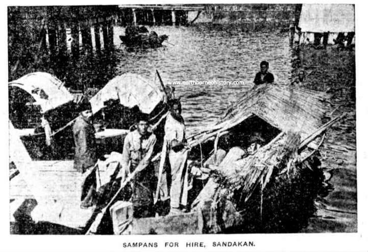 sampan_sandakan_1922